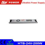 24V 8A LED 세륨 RoHS Htb 시리즈를 가진 Ultra-Thin 전력 공급