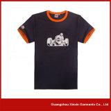 卸し売りブランク黒180GSMの100%年の綿のTシャツ(R103)