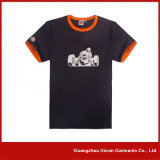 도매 공백 검정 180GSM 100%년 면 t-셔츠 (R103)