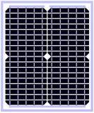 Panneau solaire 15W Mono avec TUV/CEC/stm/Inmetro Certificat