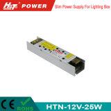 alimentazione elettrica di 24V 1A LED con le Htn-Serie della Banca dei Regolamenti Internazionali di RoHS del Ce