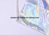 Hologramme élégant PU laser coulisse femmes sac à dos