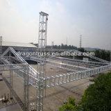 Алюминиевая система ферменной конструкции крыши для напольной индикации будочки