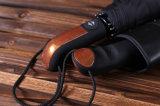 parasole maschio di qualità 10ribs delle forti Windresistant dell'ombrello di 3folding donne automatiche della pioggia