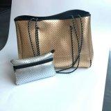 Sacchetto di acquisto del sacchetto del pannolino della borsa del neoprene di modo con la grande apparenza