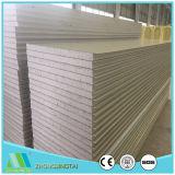 Het langdurige EPS/van het Staal van de Kleur van het Metaal Materiële Comité van de Muur van het Dak van de Sandwich van de Glaswol van de Wol van de Rots voor PrefabHuis