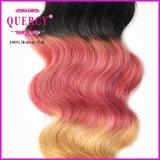 precio de fábrica tres Omber Tono de Color 100 Derechos Hairhair cierres de encaje