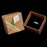 Caso di visualizzazione all'ingrosso di memoria dell'anello del braccialetto della collana del sacchetto dei contenitori di regalo dei monili