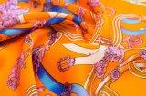 2017 heiße Verkaufs-Digital gedruckte Schal-Form-Dame Silk Scarf
