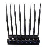 8 полос мощные сотового телефона 2.4G 5.8g 5.2g WiFi для мобильных устройств подавления беспроводной сети