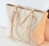 As bolsas grandes da onda do ombro da bolsa do viajante de bilhete mensal do saco do laço das senhoras da temperamento do saco da forma simples vendem por atacado