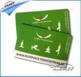 Os Ambo-Lados Matte do revestimento imprimiram o cartão plástico do PVC Cr80 para a sociedade