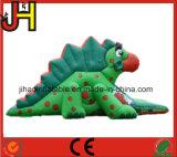 Diapositiva inflable atractiva del dinosaurio para la venta