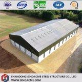 Estrutura de aço prefabricadas Sinoacme construção do depósito