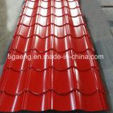 カラー金属屋根ふきまたはボックスプロフィールの屋根シートはアフリカをエクスポートした