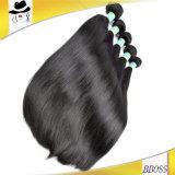 Cabelo brasileiro com cabelo humano da cutícula cheia