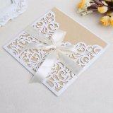 Tarjetas de invitación de boda con sellos sobres impresión personalizada