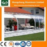 Policarbonato de Prefabbricated y patios al aire libre de aluminio/Sunrooms de cristal