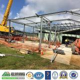 Workshop de construção da estrutura de aço pré-fabricadas e no depósito