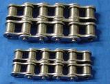 La cadena de rodillos de acero para mover la pasarela