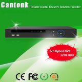 1080P 8CH Hybrid CCTV DVR Grabador de vídeo desde cámaras CCTV DVR-Xvra proveedores831)