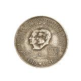 Muchos años de experiencia en fabricación de moneda moderna Metal personalizada en blanco para el recuerdo