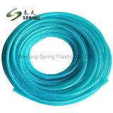 Melhor qualidade de PVC colorido flexível reforçado trançado com mangueira de jardim
