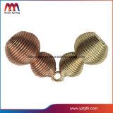 Touche magnifique boucle avec ressort en métal