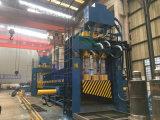 Machine de découpe de recyclage de ferrailles de déchets pour les métaux lourds