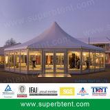 Tienda blanca al aire libre de la boda de 800 personas para las ventas