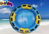 Geel en Blauw Opblaasbaar Water om Vlot