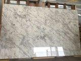 Туманность Андромеды белого гранита полированной плитки&слоев REST&место на кухонном столе
