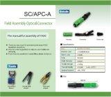 Sc veloce /APC del connettore del campo ottico
