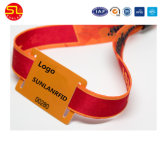 Wristbands modificados para requisitos particulares materia textil de RFID