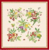 花の絹のスカーフは女性のためにカスタム設計する