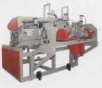 PVC泡のキャビネットのボードの生産ラインプラスチック放出機械