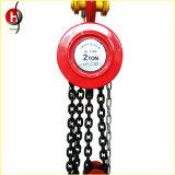 T Hsz 0.5~50Tipo polipasto de cadena Manual/bloque de la cadena