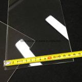 Resistente al calor rectangular de sílice fundida claro de la placa de cristal de cuarzo.