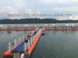 HDPE Zhejiang-Jiachen Plastikponton-sich hin- und herbewegende Plattform
