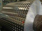 Алюминиевый лист пластины мельница отделка из полированного клетчатого штукатурки рельефным модели