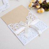 De Kaarten van de Uitnodiging van het huwelijk met de Gepersonaliseerde Druk van Enveloppen Verbindingen