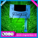 Flexible Customizing Circuit Membrane Control Switch with Plated Golden delicious