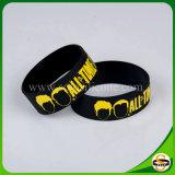 Sillicone Wristband kundenspezifisches Firmenzeichen-Silikon-Armband für Ereignis