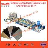 Maquinaria impermeável do equipamento da membrana do betume de Sbs do material de construção da construção