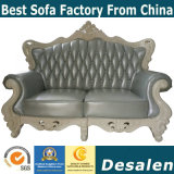 高貴な様式の中国Ciffのホテルの家具の本革のソファー(169-4)