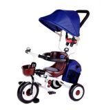 جديات درّاجة ثلاثية 3 مطّاطة عجلة جدي درّاجة طفلة ماشية [شلد تريسكل] درّاجة [سترولّر] 4 في 1