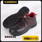 Высокая посадка натуральная кожа обувь (SN5649)