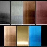 着色されたステンレス鋼装飾的なシートまたはPVDのステンレス鋼シート