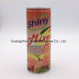 250ml果汁のキーウィ、モモ、パイナップルは追加されたビタミンCとジュースを混合した