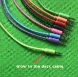 """Экранирующая оплетка из нейлона и соединительный кабель 5-Pack (3,5 мм / 1/8"""" моно кабели)"""